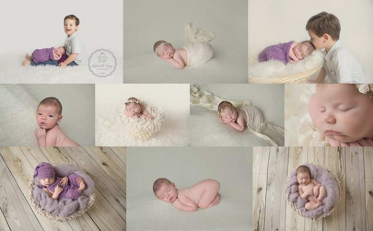 Olympia washington newborn baby photographer fairies and frogs