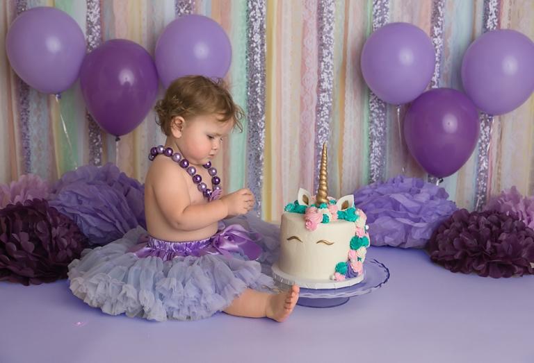 unicorn-princess-cake-smash-first-birthday-photo-session-in-tacoma