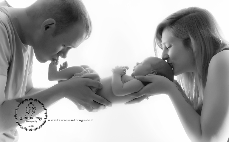 Newborn photography mother father portraits olympia wa