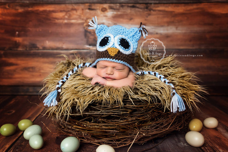 Newborn-Photography-Five-Day-Old-Baby-Fairies-and-Frogs-Photography-Olympia-WA