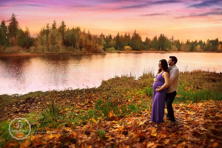 Gorgeous-Outdoor-Maternity-Session-Olympia-Fairies-and-Frogs-Photography