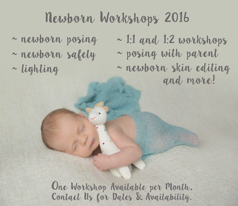 Seattle Newborn Photography Workshop - Newborn Photography