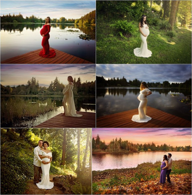 olympia-pregnancy-maternity-photographer-outside-sessions-fairies-and-frogs-photography