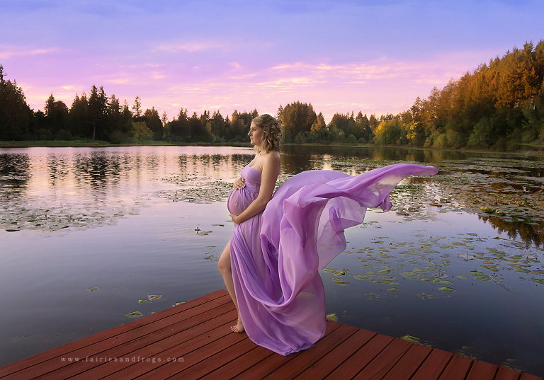 outside-maternity-session-in-olympia-washington