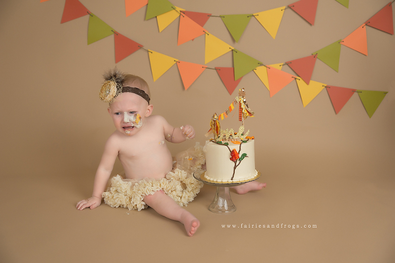 First Birthday Cake Smash Photographer Tacoma - It's my party and I