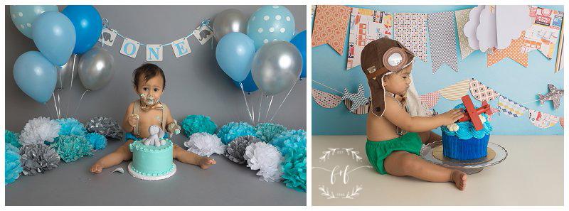 baby-elephant-themed-cake-smash-photographer-in-tacoma