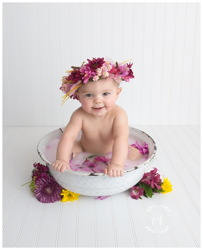 Olympia Six-Month Sitter Session | Milk Bath Sitter Session ...