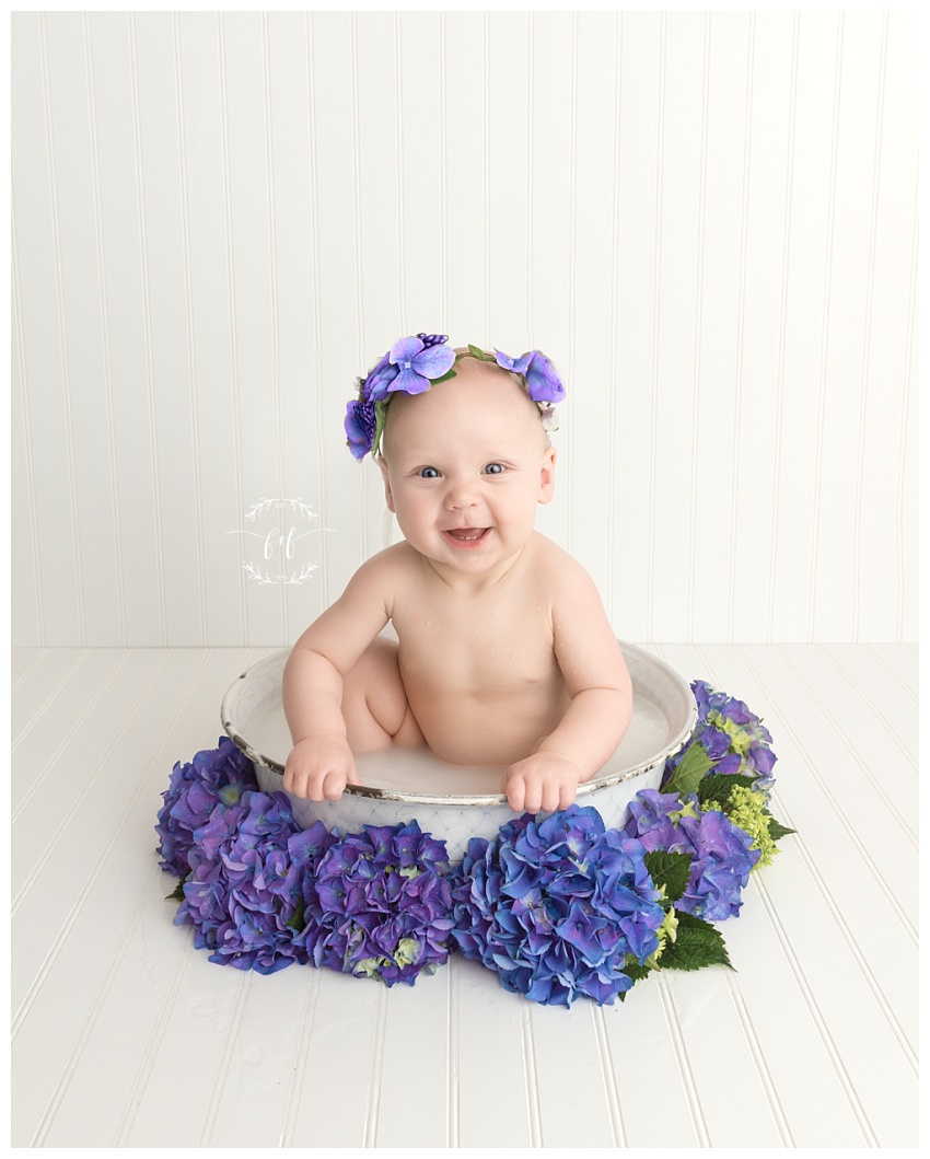 Tacoma Six Month Sitter Session Photographer