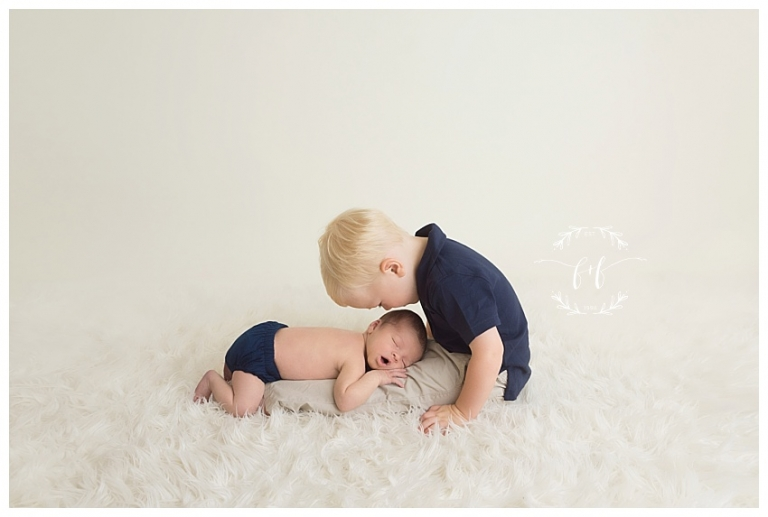 Tacoma Sibling Newborn Session Photographer