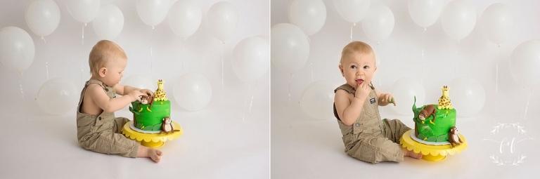 Olympia first birthday photos