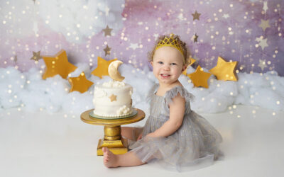 Olympia First Birthday Photoshoot | Twinkle Twinkle Little Star
