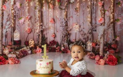Seattle First Birthday Photography | Woodland Princess