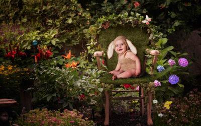 Portland Baby Photographer   Milestone Session