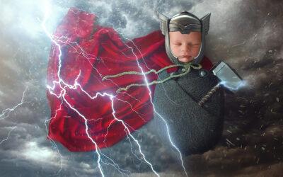 Portland Newborn Imagination Photoshoot