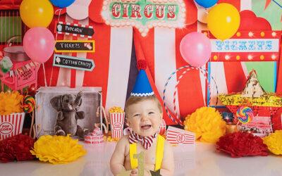 Puyallup Cake Smash Photoshoot   Baby Aiden