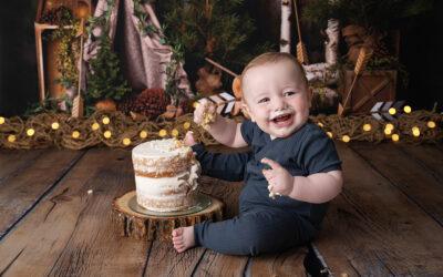 Puyallup First Birthday Photoshoot